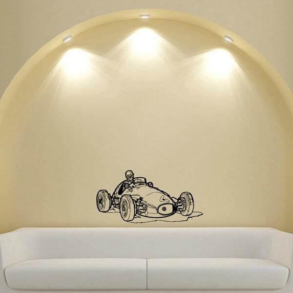 Formula 1 FIA Sports Car Racer Design Vinyl Wall Art Decal