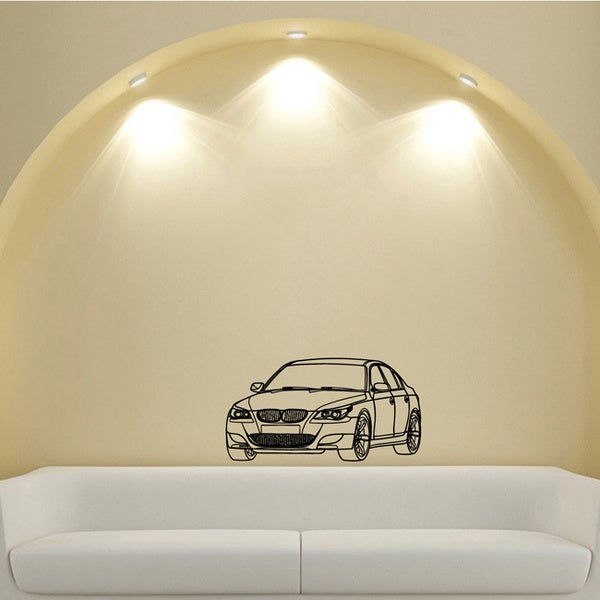 BMW Speed Design Vinyl Wall Art Decal