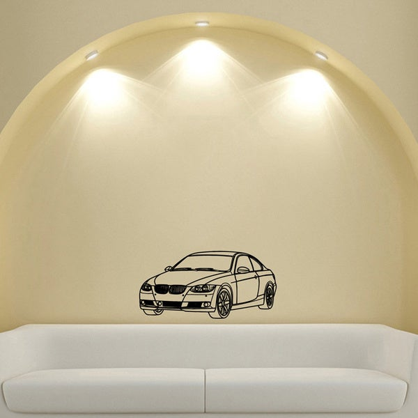 BMW 3 Series E92 Vinyl Wall Decal