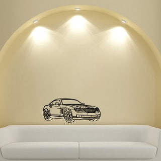 Chrysler Crossfire Vinyl Wall Decal