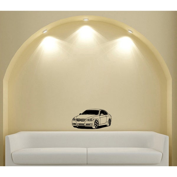 BMW 3 Series Transport Design Vinyl Wall Art Decal