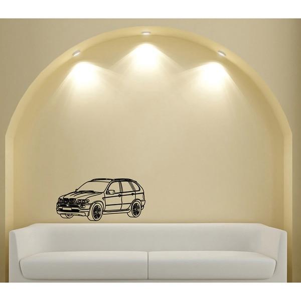 Car Jeep Bumper Power Vinyl Wall Art Decal