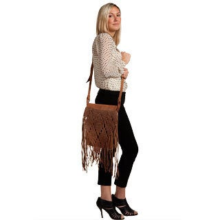 Fringed Day Bag (Morocco)