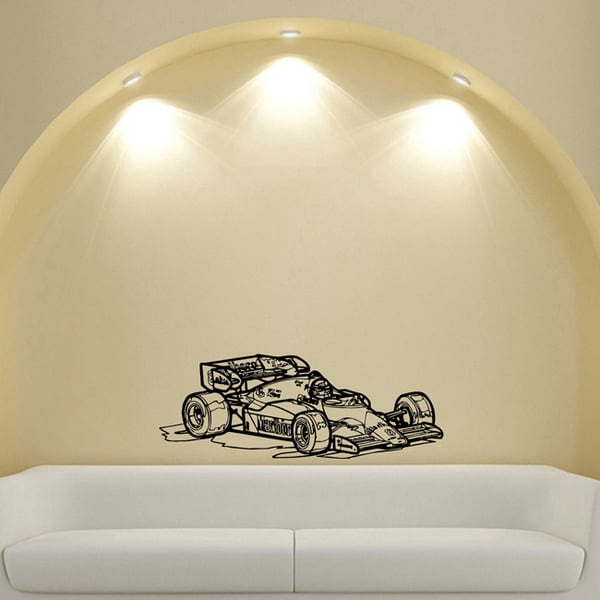 Formula 1 Ferrari Vinyl Wall Art Decal