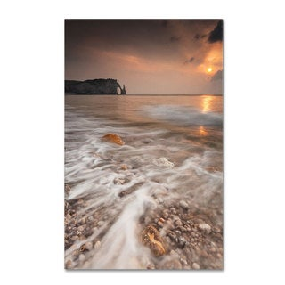 Mathieu Rivrin 'Etretat' Canvas Art