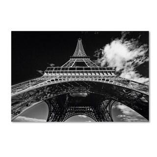 Yale Gurney 'Paris Eiffel Tower 1' Canvas Art