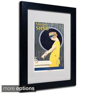Anonymous 'Savon S H Y B' Framed Matted Art