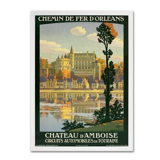 Unknown 'Chateau D'Amboise' Canvas Art