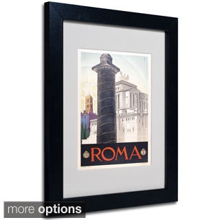 Anonymous 'Roma' Framed Matted Art