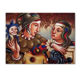Edgar Barrios 'Romanza' Canvas Art