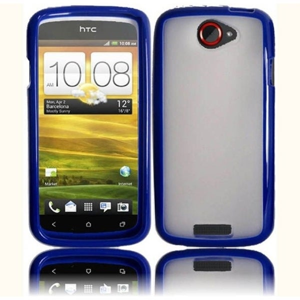 INSTEN TPU Phone Case Cover for HTC One S