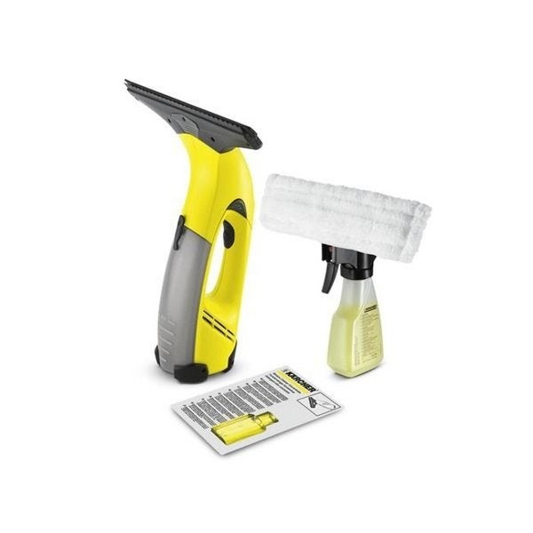 Karcher WV 50 Plus Window Vacuum Cleaner Power Squeegee and Bonus Spray Bottle