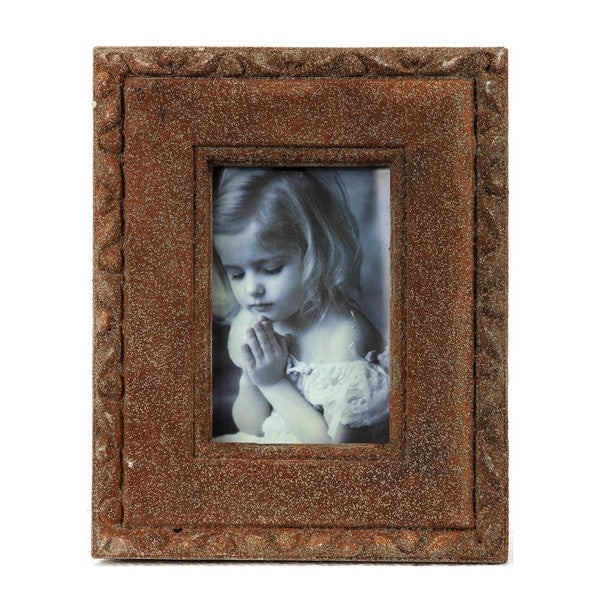 Privilege 10x8-inch Brown Ceramic Photo Frame