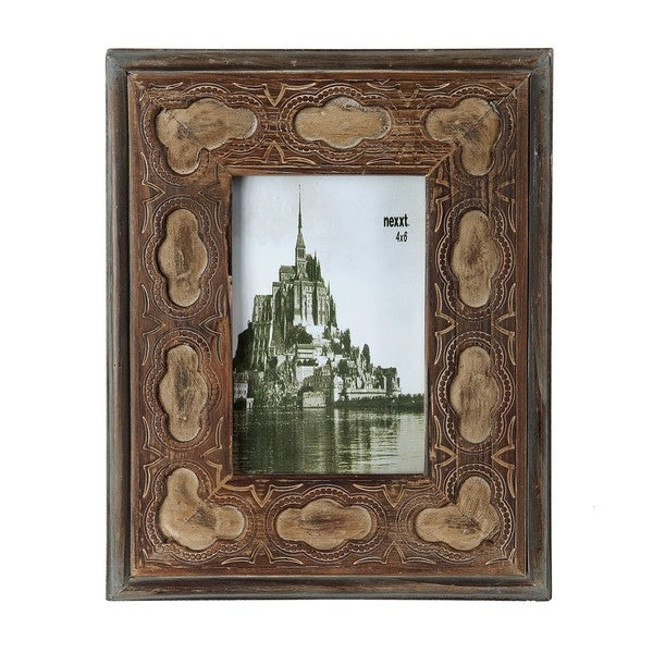 Privilege 4x6-inch Vintage Wooden Photo Frame