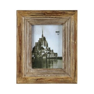 Privilege 5x7-inch Distressed Wood Photo Frame