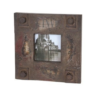 Privilege 4x4-inch Vintage Wood Photo Frame