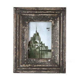 Privilege 4x6-inch Vintage Wood Photo Frame