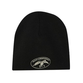 Duck Commander Black Beanie
