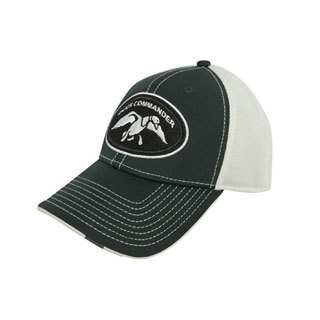 Duck Commander Green/ White Two-tone Cap