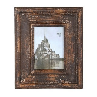 Privilege 5x7-inch Reclaimed Wood Photo Frame