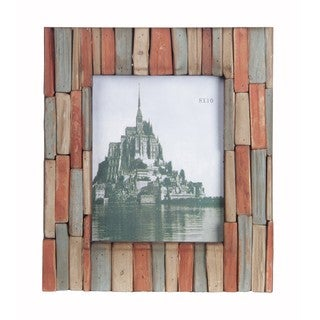 Privilege 8x10-inch Multicolor Wood Photo Frame