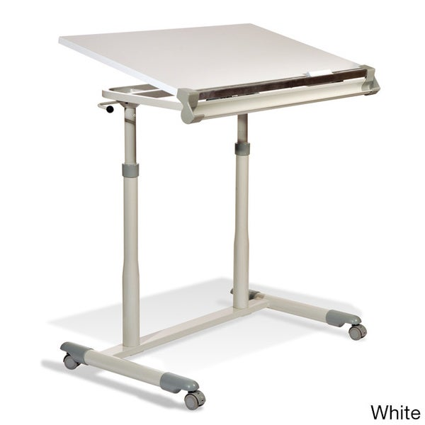 Aurelle Home Jesper Office Fully Adjustable Drafting Table