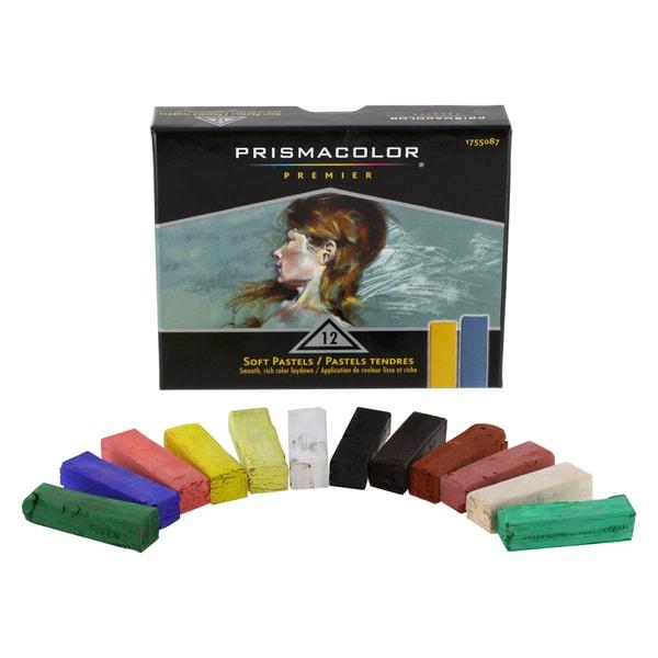 Prismacolor Premier Soft Pastels (Pack of 12)