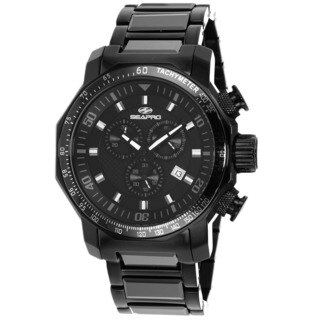 Seapro Men's Coral Watch with Black Dial