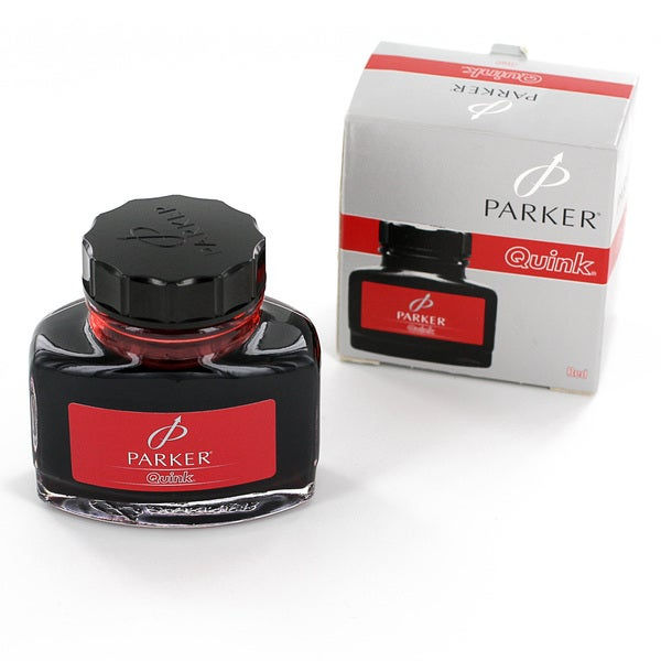 Parker Super Quink Permanent Red Ink