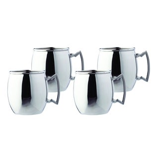Steelii' Stainless Steel 16-ounce Moscow Mule Mug (Set of 4)