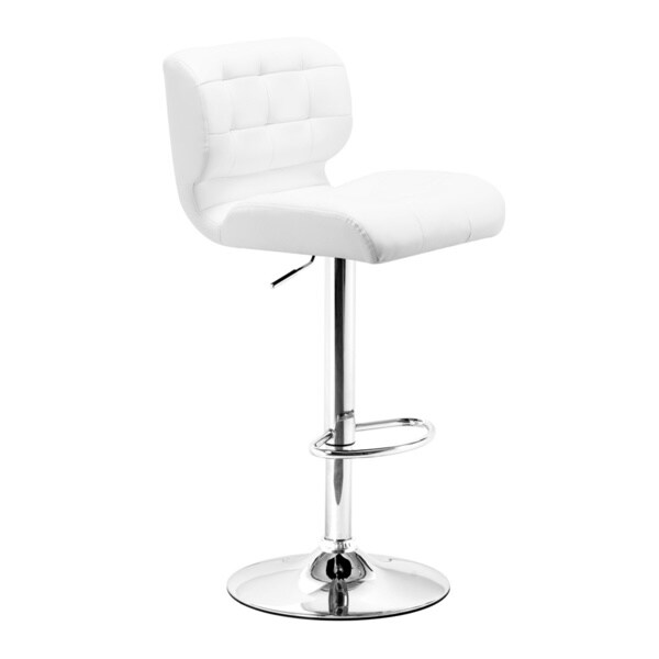 Formula White Bar Stool