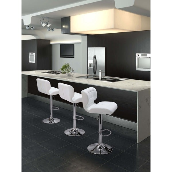 Formula Black Bar Stool