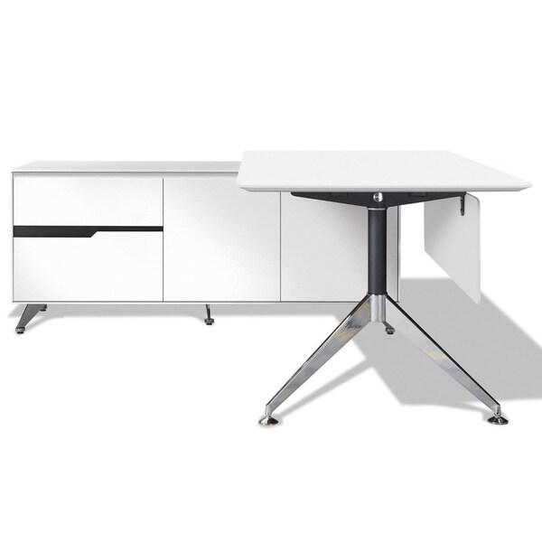 Jesper Office 400 Executive Desk with Left Return Cabinet