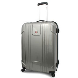 SwissGear 28-inch Large Hardside Spinner Upright Suitcase