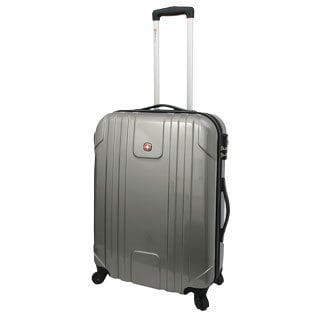 SwissGear 20-inch Carry On Hardside Pilot Case Spinner Upright