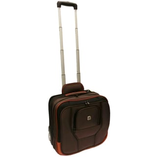 Ful High Roller Carry On Rolling Laptop Briefcase