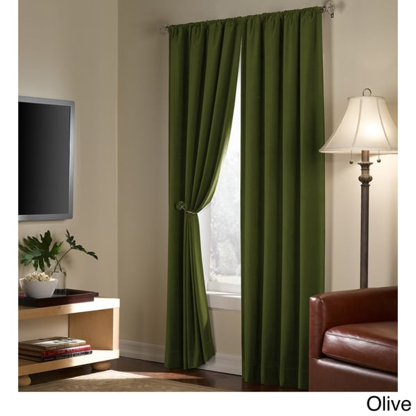 Serenity Blackout 84 inch Curtain Panel Pair