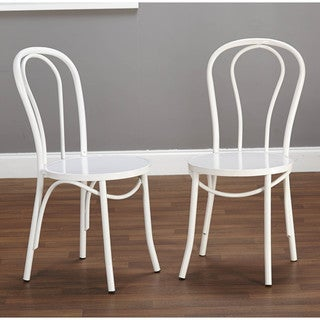 Vintage Inspired Cafe Chairs (Set of 2)
