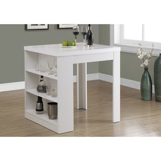 White Hollow-core 32 x 36-inch Counter Height Table
