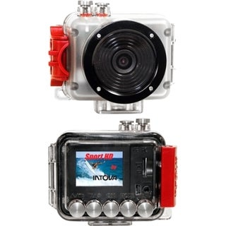 "Intova SP1 Digital Camcorder - 1.5"" LCD - Full HD - Red"