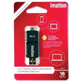 Imation 2-in-1 Micro USB Flash Drive