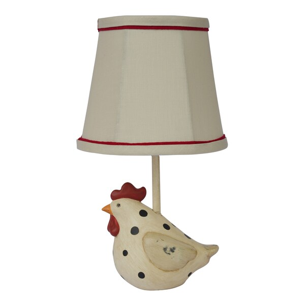 Somette Big Fat Hen Polka Dot Table Lamp 12207615