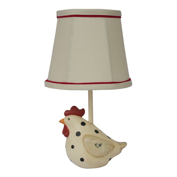 Somette Big Fat Hen Polka Dot Table Lamp