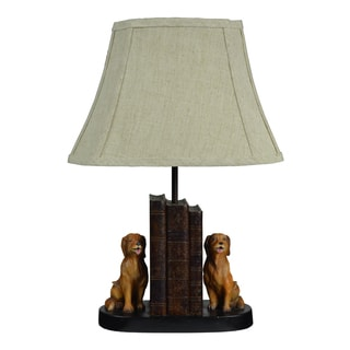 Lord Tweedmouth Golden Ret Table Lamp