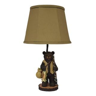 Going Fishing Bear Table Lamp