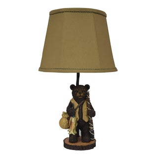 Going Fishing Bear Table Lamp