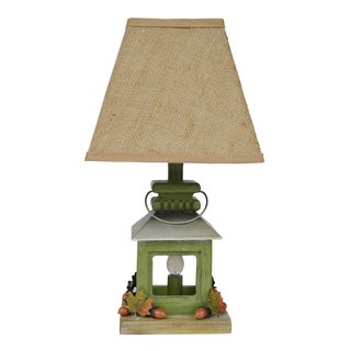 Lodge Lantern with Night Light