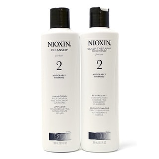 Nioxin System #2 Cleanser and Therapy 10.1-ounce Duo Pack