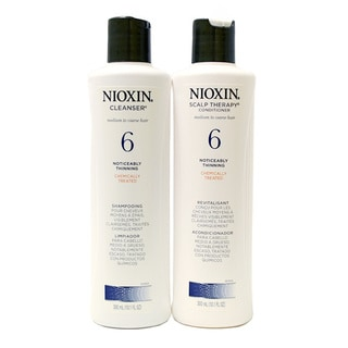 Nioxin System #6 Cleanser and Therapy 10.1-ounce Duo Pack