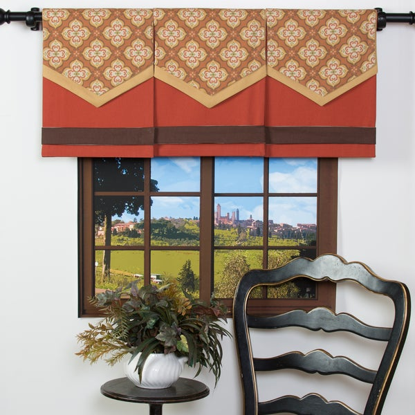 Spice-it-Up Cotton Design Your Single Panel Window Valance 12207763